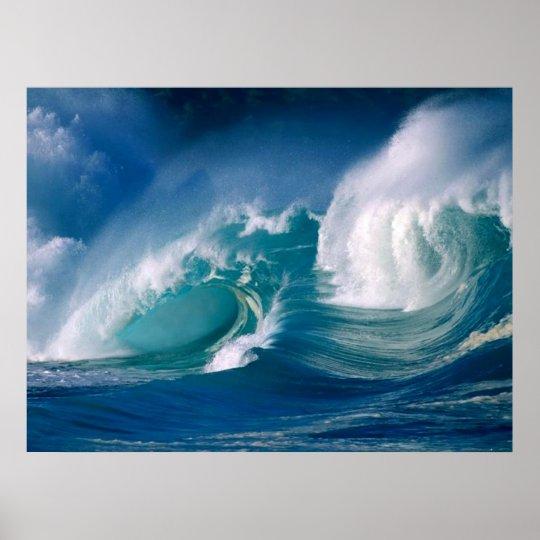 ocean wave poster