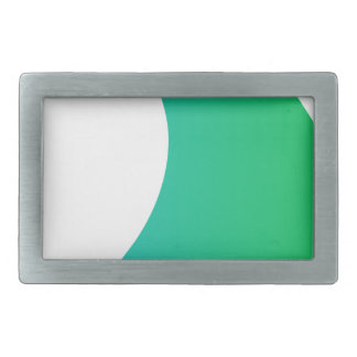 Ocean Wave Rectangular Belt Buckle