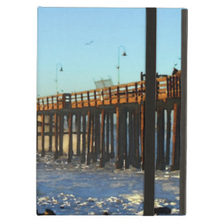 Ocean Wave Storm Pier Cover For iPad Air