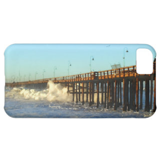 Ocean Wave Storm Pier Cover For iPhone 5C