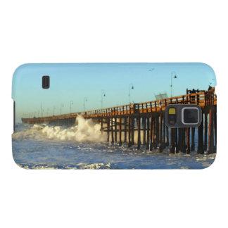 Ocean Wave Storm Pier Galaxy S5 Cover