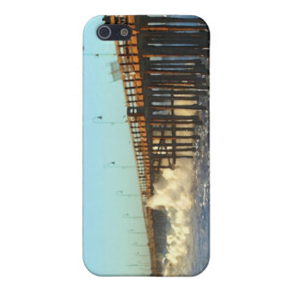 Ocean Wave Storm Pier iPhone 5/5S Cases