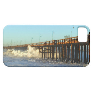 Ocean Wave Storm Pier iPhone 5 Cover