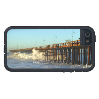 Ocean Wave Storm Pier iPhone 5 Covers