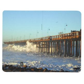 Ocean Wave Storm Pier Journal