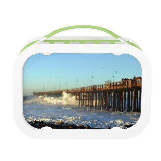 Ocean Wave Storm Pier Lunchbox