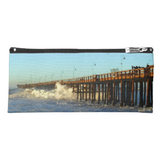Ocean Wave Storm Pier Pencil Case