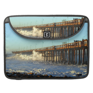 Ocean Wave Storm Pier Sleeve For MacBooks