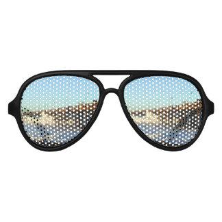 Ocean Wave Storm Pier Sunglasses