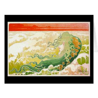 Ocean Waves 1897 Card