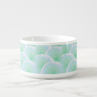 Ocean Waves Abstract Bowl