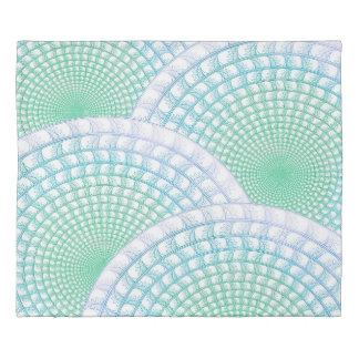 Ocean Waves Abstract Duvet Cover