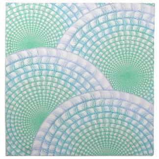 Ocean Waves Abstract Napkin