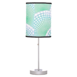 Ocean Waves Abstract Table Lamp