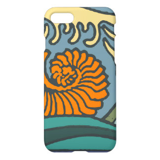 Ocean Waves Blue Colorful iPhone 8/7 Case