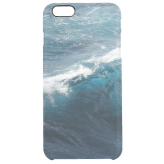 Ocean Waves Clear iPhone 6 Plus Case