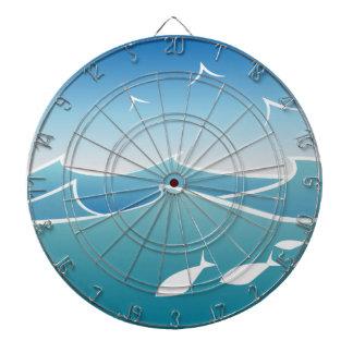 Ocean Waves Dartboard