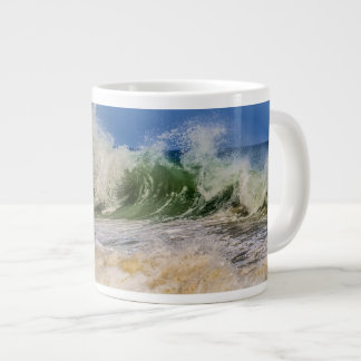 Ocean Waves in motion Large Coffee Mug