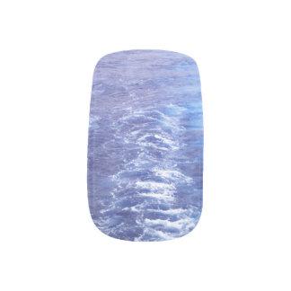 Ocean Waves Minx Nails Minx Nail Art