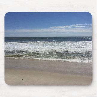 Ocean Waves on Beach Photo Mouse Pad
