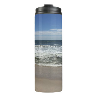 Ocean Waves on the Beach Picture Thermal Mug