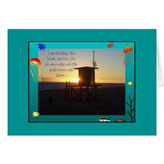 Ocean/Way Card