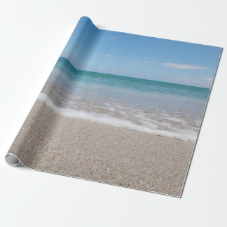 Ocean Wrapping Paper Beach Wedding Ocean I Natural