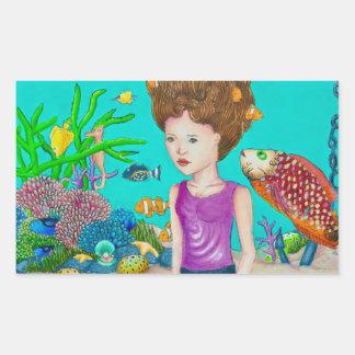 Ocean'a Beauty sticker