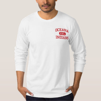 Oceana - Indians - Middle - Oceana West Virginia T-Shirt
