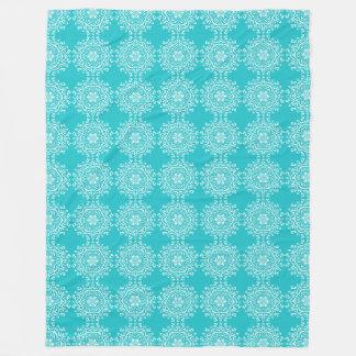 Oceana Mandala Fleece Blanket