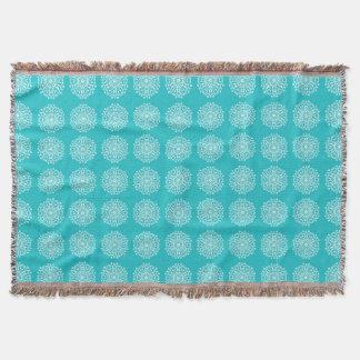 Oceana Mandala Throw Blanket