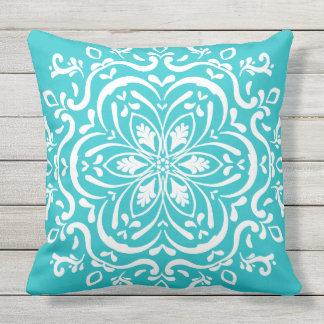 Oceana Mandala Throw Pillow