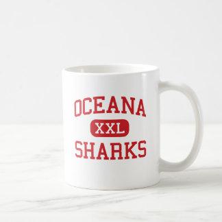 Oceana - Sharks - High - Pacifica California Coffee Mug