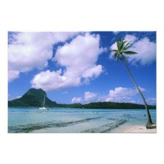 Oceania, French Polynesia, Tahiti. View of Photo