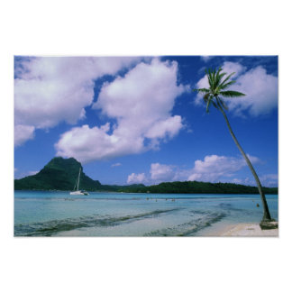 Oceania, French Polynesia, Tahiti. View of Poster