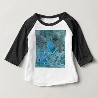 Oceania Teal & Blue Marble Baby T-Shirt