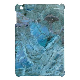Oceania Teal & Blue Marble iPad Mini Covers