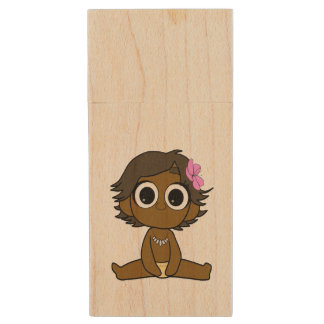 Oceania usb wood USB flash drive