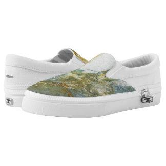 Oceanic Blues Slip-On Sneakers