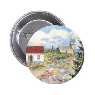 Oceanic Hotel on Star Island View 2 Inch Round Button