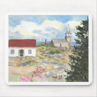 Oceanic Hotel on Star Island View Mouse Pad