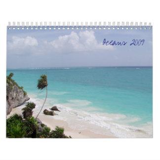 Oceans 2009 wall calendars