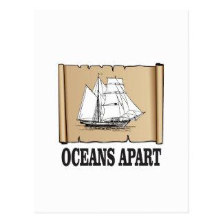 oceans apart fun postcard