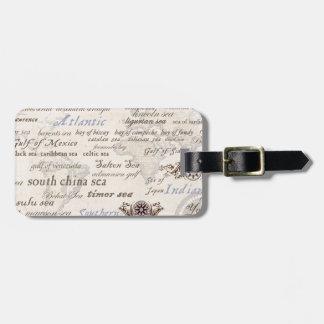 oceans by tony fernandes luggage tag