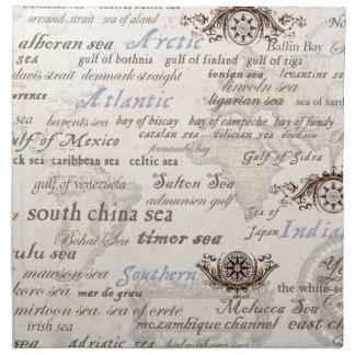 oceans by tony fernandes napkin