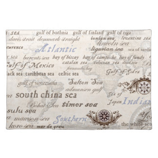 oceans by tony fernandes placemat