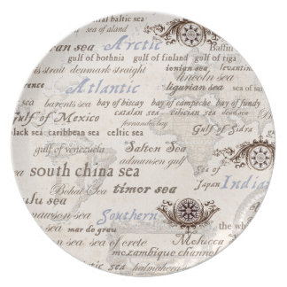 oceans by tony fernandes plate