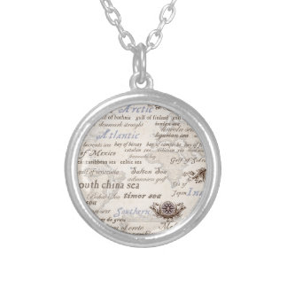 oceans by tony fernandes silver plated necklace