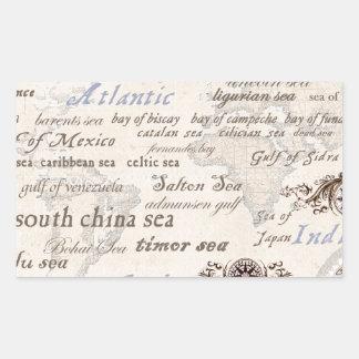 oceans by tony fernandes sticker