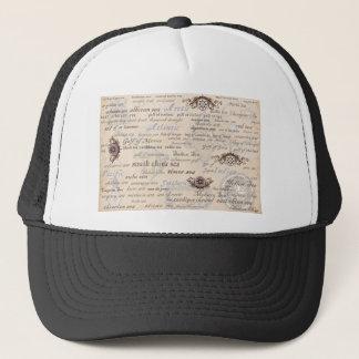 oceans by tony fernandes trucker hat